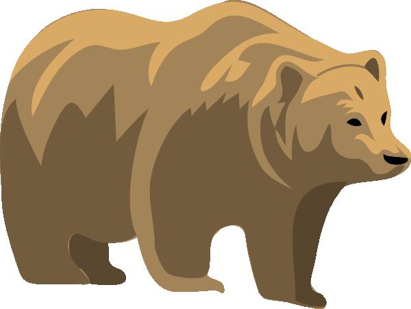 Brown Bear Clip Art At Clker Com Vector -Brown Bear Clip Art At Clker Com Vector Clip Art Online Royalty-8