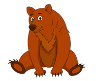 Brown Bear Clipart Size: 75 K - Bear Clipart Images