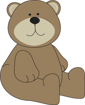 Brown Bear Sitting Down
