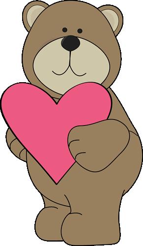 Brown Bear Valentine Heart-Brown Bear Valentine Heart-1