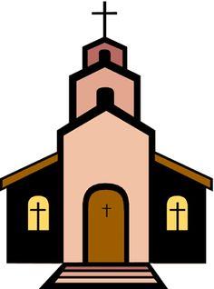 Brown church building