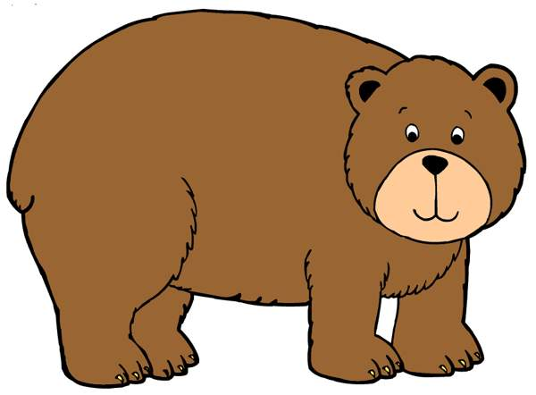 brown grizzly bear clipart. 2b374878dd3c59a92470073c1951dd .