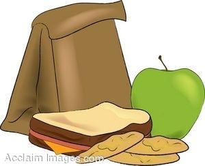 Brown Paper Bag Clipart .-Brown Paper Bag Clipart .-3