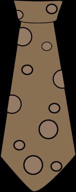 Brown Polka Dot Tie