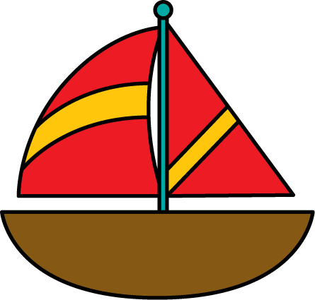 Brown Sailboat