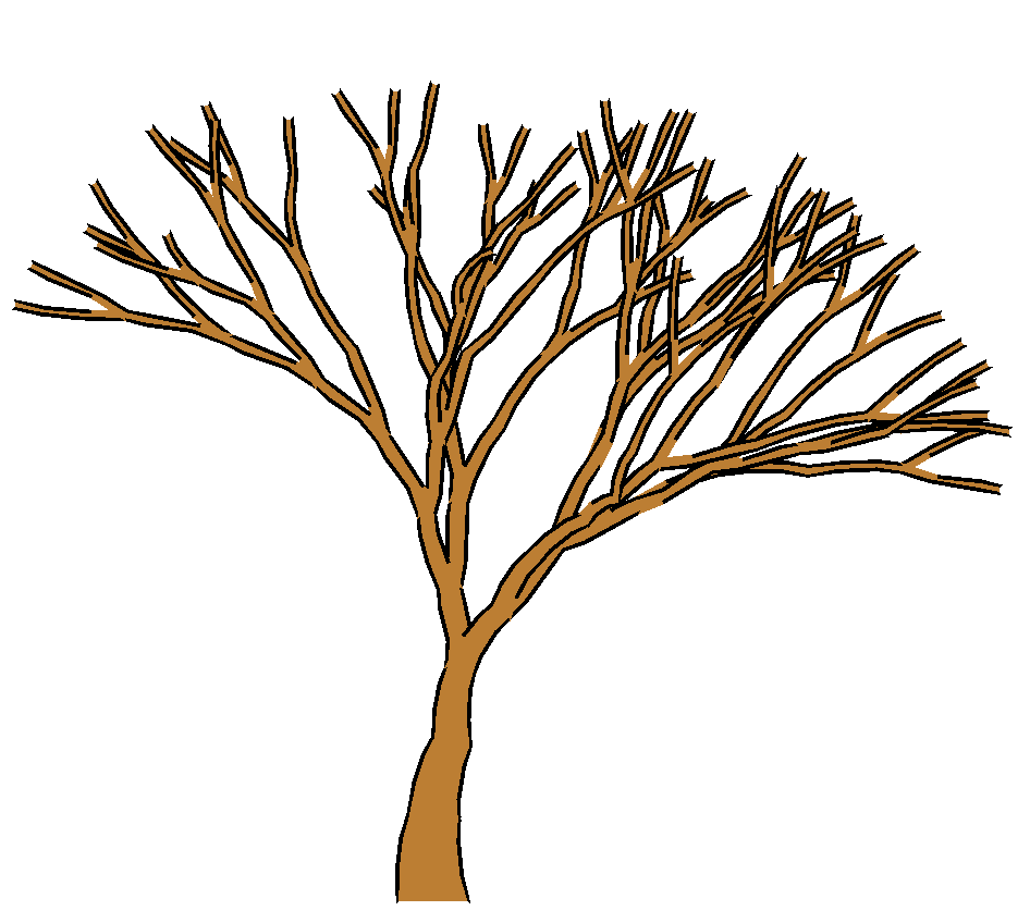 Brown Tree Without Leaves Clipart Cliparthut Free Clipart