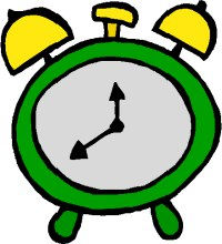 Work Time Clock Free Clipart