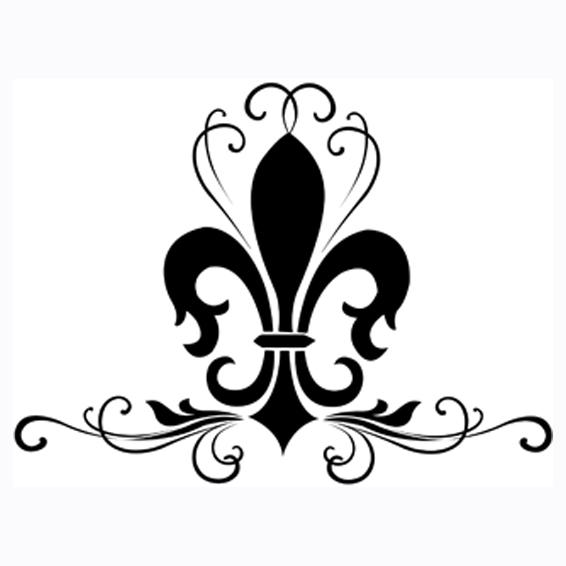 Bsa fleur de lis clip art vectors download free vector art image