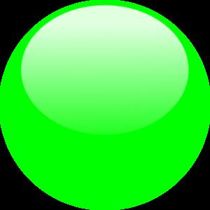Bubble Dark Green Clip Art