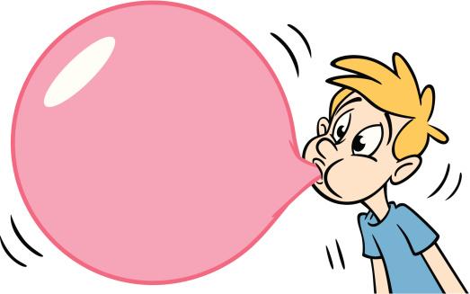 Bubble Gum Clip Art - .