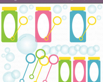 Blowing Bubbles Clipart Digital Art Set -Blowing Bubbles Clipart Digital Art Set INSTANT DOWNLOAD Bubble Clipart-18