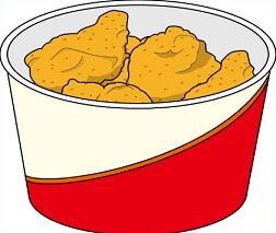 bucket of Fried Chicken-bucket of Fried Chicken-5
