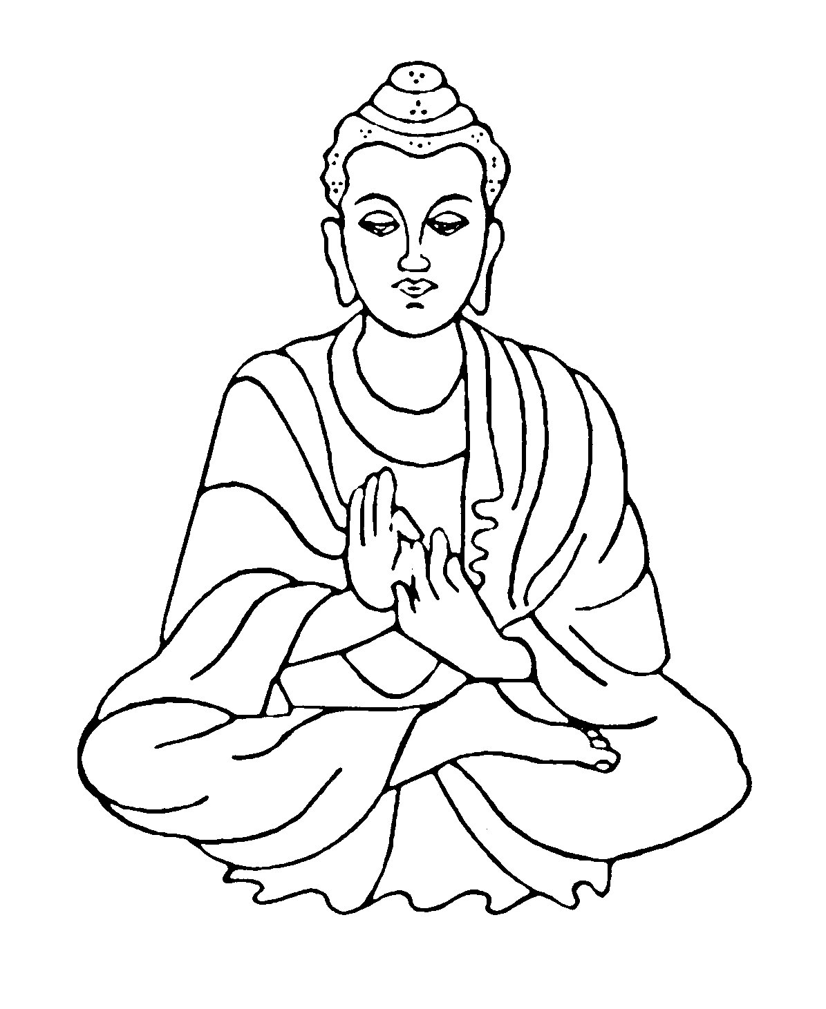 Buddha Clip Art