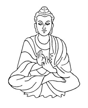 Buddha Clipart. Buddha cliparts. Discrimination against Buddhists in Olathe
