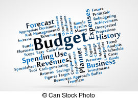 Budget Clip Artby coraMax7/213; Budget word cloud vector illustration