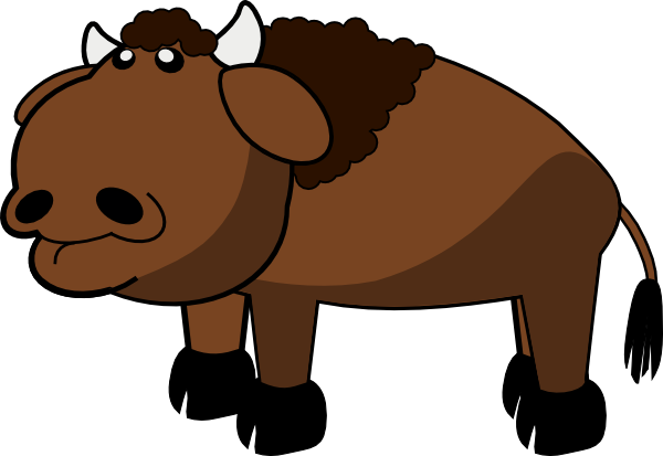 Buffalo Clip Art At Clker Com Vector Clip Art Online Royalty Free
