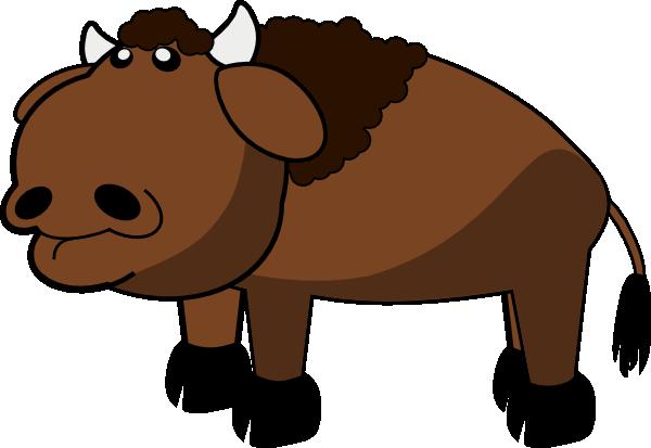 Buffalo Clip Art At Clker Com Vector Clip Art Online Royalty Free