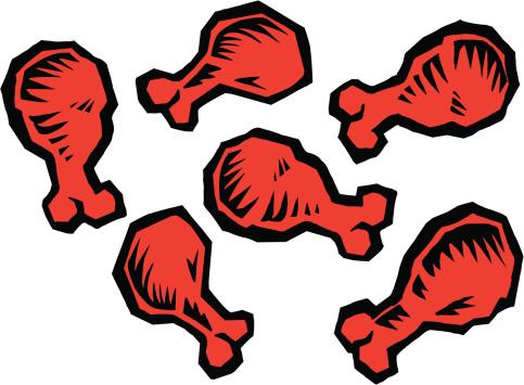 Buffalo Wings Vector Art .-Buffalo Wings vector art .-2