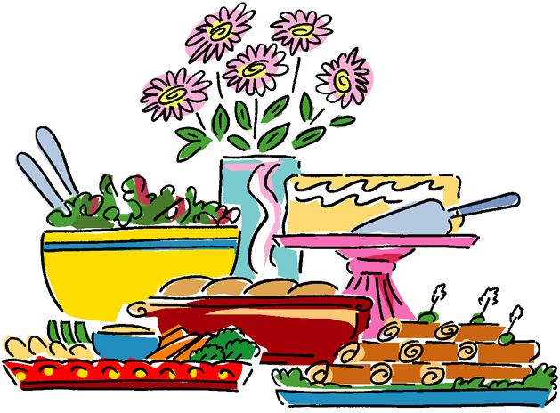 Buffet Table Clipart 86587 Movdata