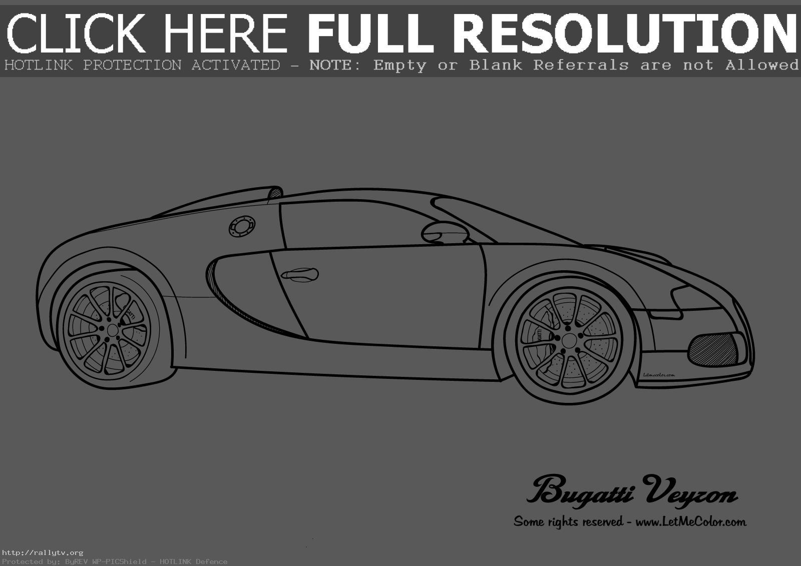 Bugatti Coloring