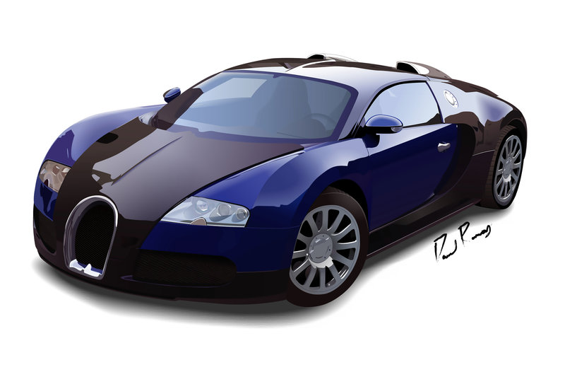 Bugatti Veyron - FINAL by Davidramsey03 ClipartLook.com