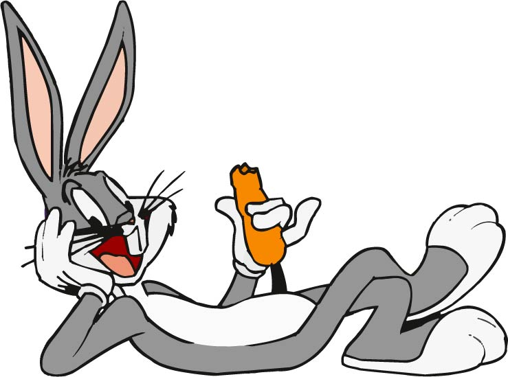 Bugs bunny bugs bunny cartoon clip art free vector