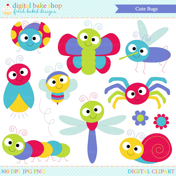 bugs clipart insects clip art ladybug la-bugs clipart insects clip art ladybug lady bug bee butterfly - Cute Bugs Clipart-6
