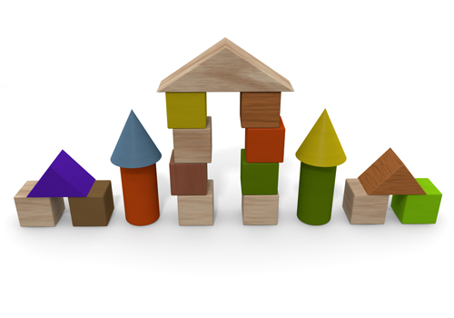 Building Blocks Free Clipart #1