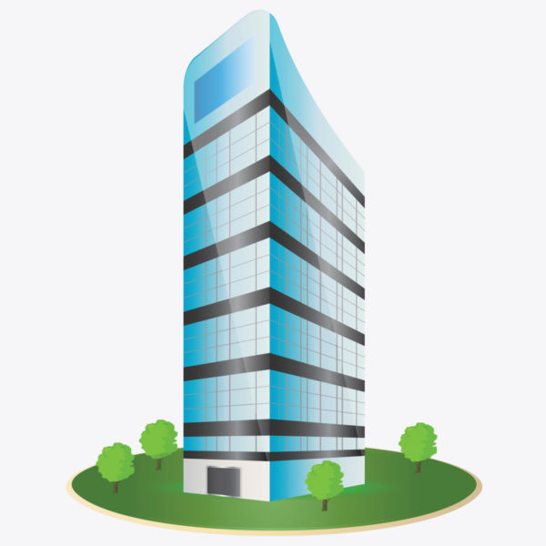 Building clipart: Corporate Building Clipart