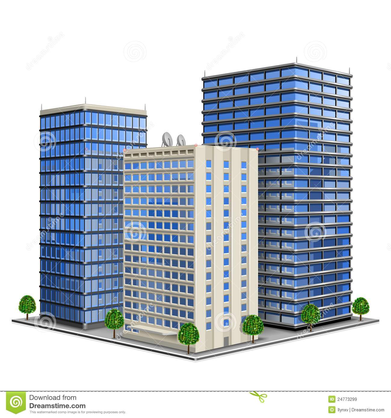 Building clipart: Office Building