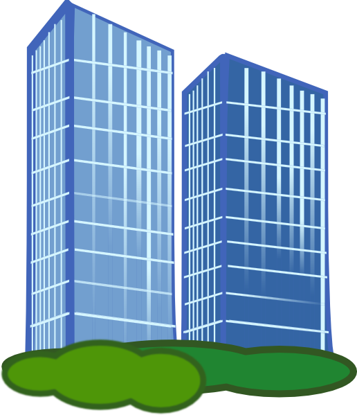 Building clipart: Office Building Clip Art