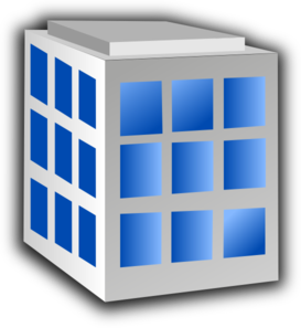 Building With Windows Clip Art .-Building with windows clip art .-8