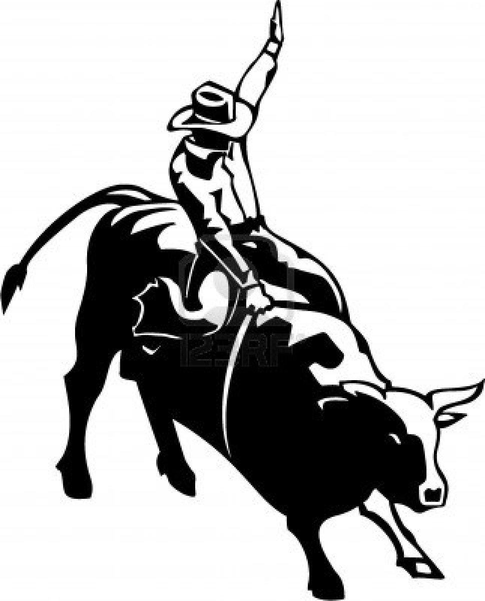 ... Bull Riding Clip Art ...-... Bull riding clip art ...-5