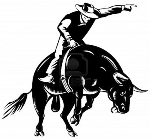 Bull Riding Free Images At Clker Com Vec-Bull Riding Free Images At Clker Com Vector Clip Art Online-9