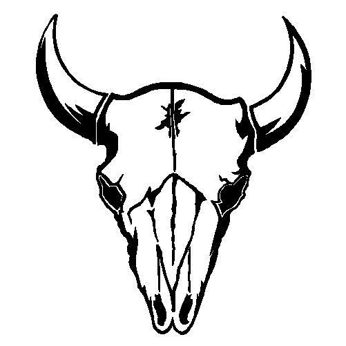 Bull Skull Decal Clipart Best Clipart Be-Bull Skull Decal Clipart Best Clipart Best-1