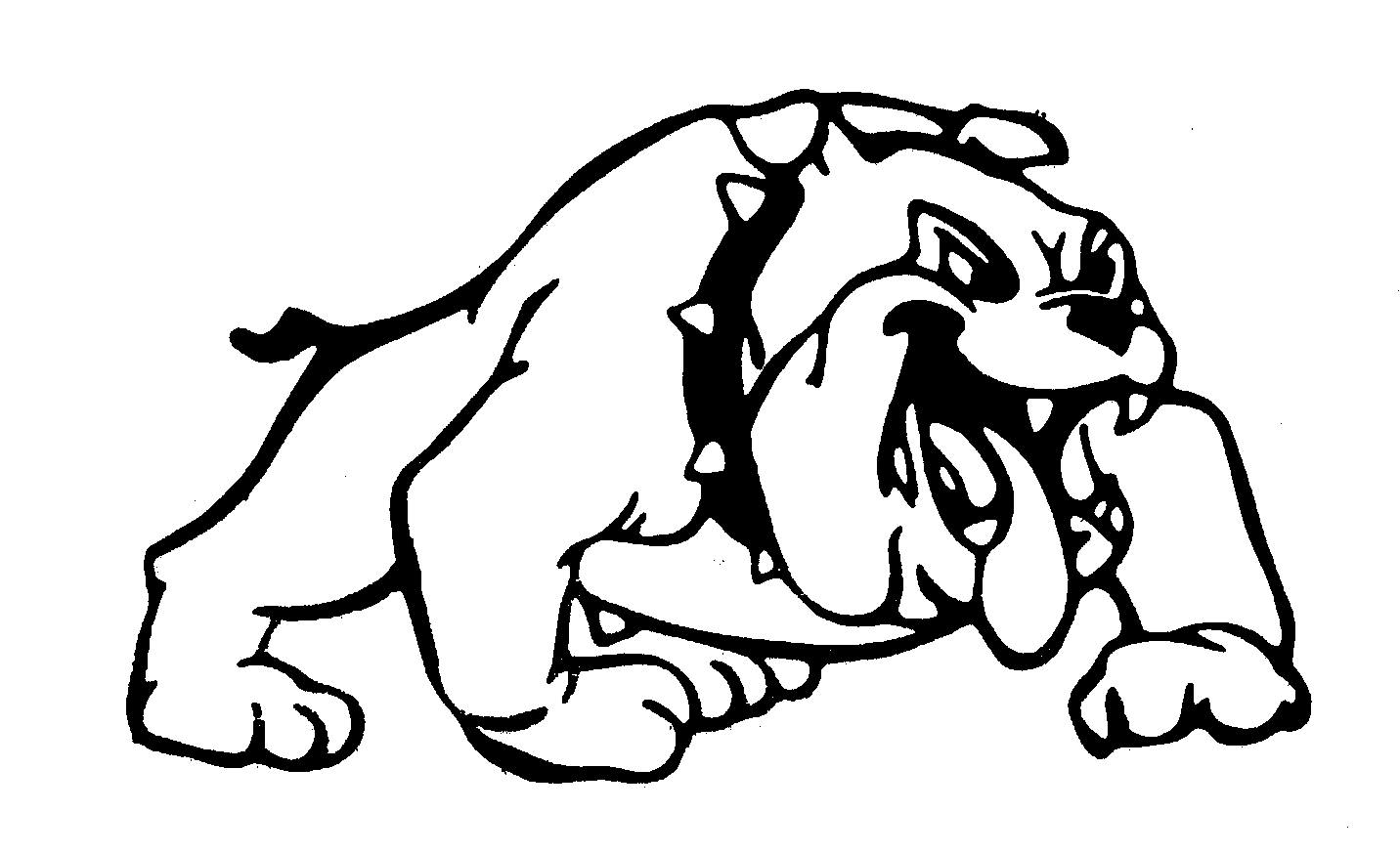 Bulldog images clip art - .