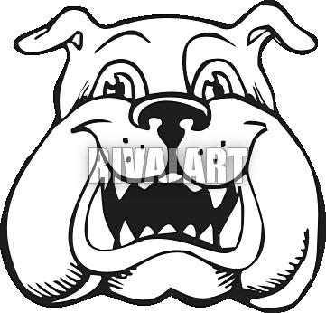 Bulldog Clip Art-Bulldog Clip Art-15