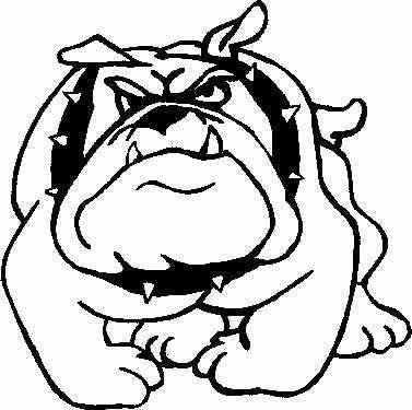 bulldog mascot clipart
