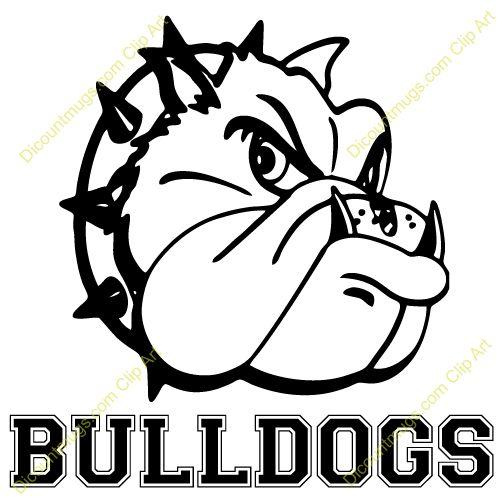 Bulldog bull dog clip art dro