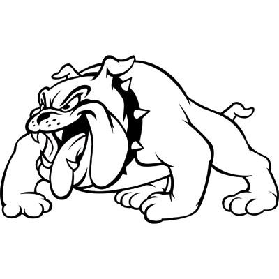Bulldog Football Mascot Clipa - Bulldog Mascot Clipart
