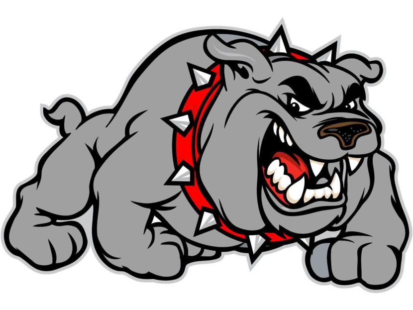 Bulldog Mascot Clipart Free . - Bulldog Mascot Clipart