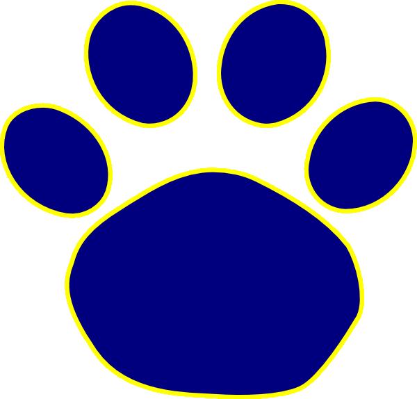 Bulldog Paw Print Clipart 2-Bulldog paw print clipart 2-5