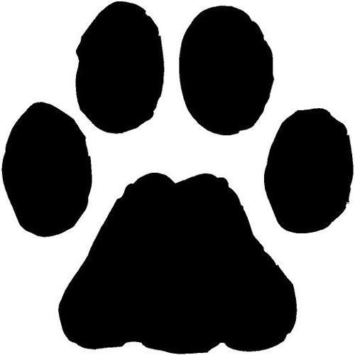 ... Bulldog Paw Print Clipart ...-... Bulldog paw print clipart ...-9
