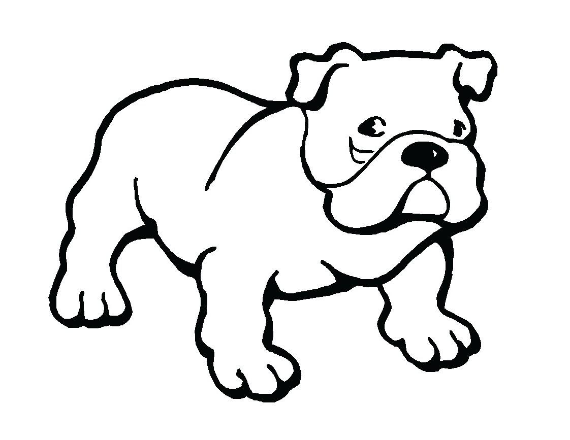 Bulldog Puppy Clipart Dots .-Bulldog Puppy Clipart Dots .-19
