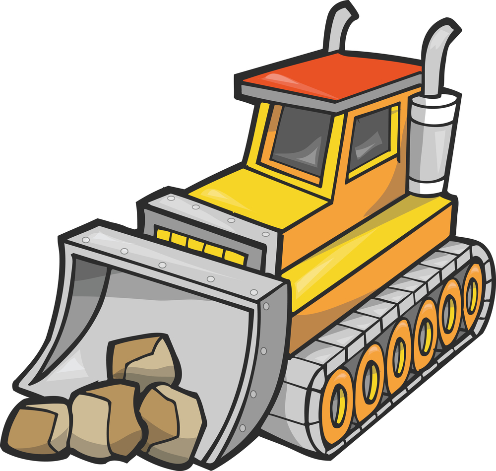 Bulldozer Clipart Cliparts Co