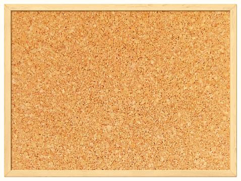 Bulletin Board Clipart. Blank Cork Board - Cork .