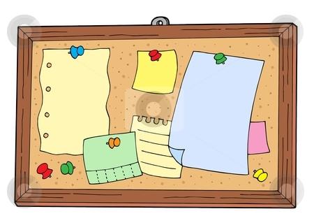 Bulletin Board Clipart