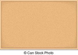 ... Bulletin Board - Empty bulletin board on white background,... Bulletin  Board Clipartby ...