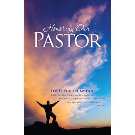 Bulletin For Pastor Appreciation Clip Ar-Bulletin for Pastor Appreciation Clip Art-1
