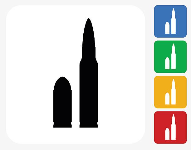 Bullet Icon Flat Graphic Design vector art illustration